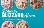 Dairy Queen Blizzard Summer Menu is Here!
