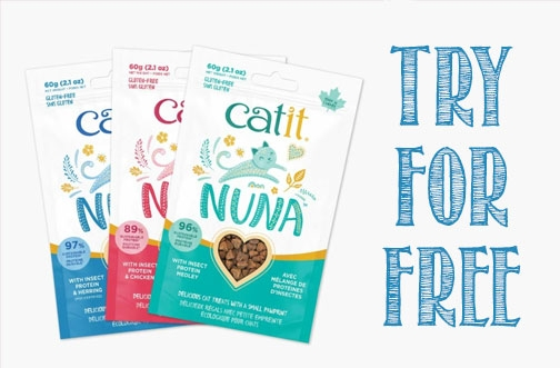 Catit Free Product Testing | Try Catit Nuna Treats for Free