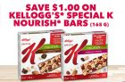 Special K Nourish Bars Coupon