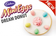 Tim Hortons Cadbury Mini Egg Donut is Here Until Easter