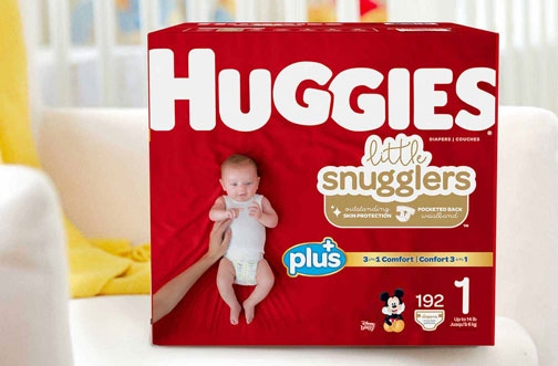 Free Huggies Newborn Diapers & Wipes Pack