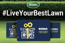 Scotts Live Your Best Lawn Sweepstakes