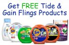 Try Tide & Gain Flings Products For Free