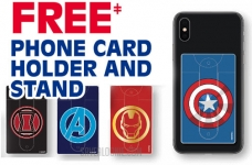 Post Cereal Rebate | Free Marvel Avengers Phone Card Holder & Stand