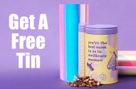 Free DAVIDsTEA Tea Tin For Mother's Day