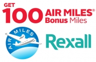 Rexall Air Miles Coupon