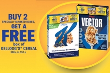 Kellogg's Promotions Canada   Free Cereal Offer + Cash for Groceries Promotion