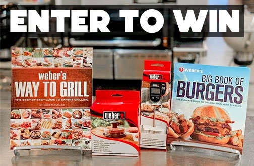 Weber Contest Canada | Win a Grilling Prize Pack