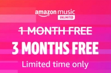Get Amazon Music Unlimited FREE for 3 Months
