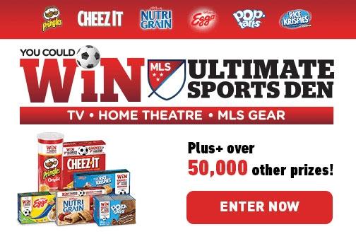 Kellogg's Contest Canada | MLS Instant Win Contest