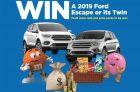 Mars Canada 2019 Ford Escape SE Giveaway