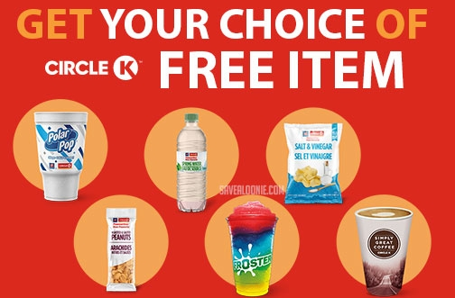 Circle K Free Stuff | Say Thank You with a Free Drink or Snack
