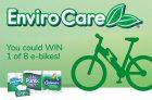 EnviroCare Contest Canada | Win 1 of 8 e-Bikes for Earth Month