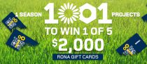 RONA Spring Event Contest