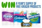 Kruger Contest Canada | Win A Year's Supply of Free Products