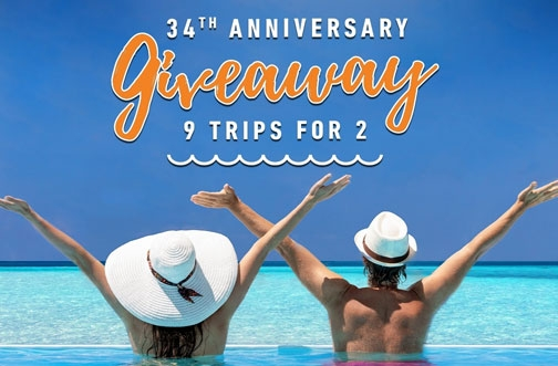 Viva Wyndham Resorts 34th Anniversary Contest
