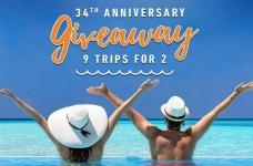 Viva Wyndham Resorts 34th Anniversary Contest
