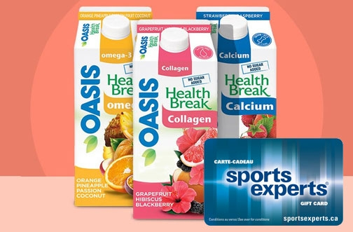 Oasis Contests | Your Health Break Contest