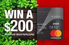 Mastercard Canada Contest | Win a $200 Mastercard