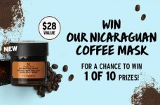 The Body Shop Nicaraguan Coffee Mask Contest