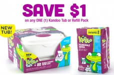 Kandoo Flushable Wipes Coupon