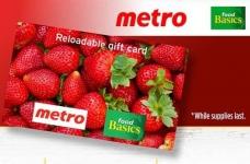 Cheerios Rebate Offer | Metro & Food Basic Gift Card