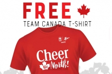 General Mills Canada Promotion | Free Team Canada T-Shirt