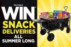 Mondelez Canada Contest | Win Snack Deliveries All Summer