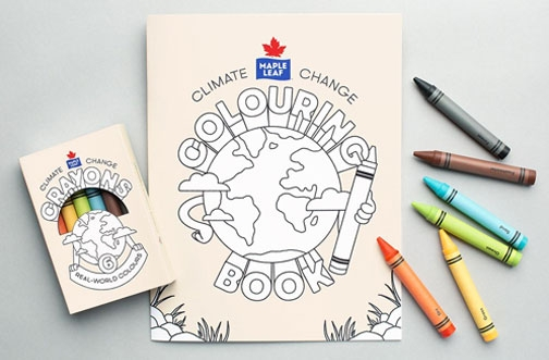 Free Maple Leaf Foods Climate Change Colouring Pack