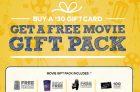 Cineplex Movie Gift Pack Promotion