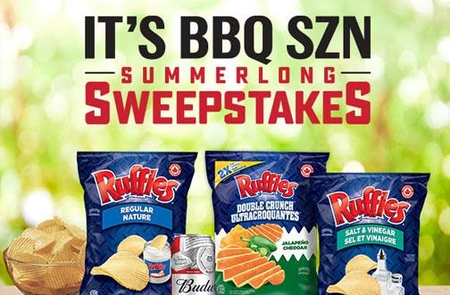 Ruffles Contest Canada | BBQ SZN Summerlong Sweepstakes