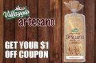Villaggio Bread Coupon | Save on Villaggio Artesano Bread