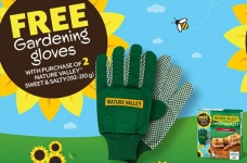 Nature Valley Promotion | Free Gardening Gloves