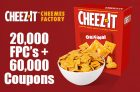 Cheez-It Promotion | 20,000 FREE Boxes + 60,000 Coupons