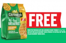 Cavendish Farms Coupons | Free* All-Day Breakfast + Save on ANY Cavendish + High Value Breakfast Potatoes Coupon