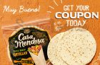 Casa Mendosa Tortilla Coupon