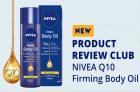 ChickAdvisor – NIVEA Q10 Firming Body Oil