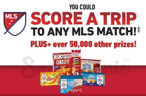 Kellogg's Contest Canada | MLS Soccer Contest