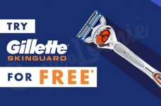 Free Gillette SkinGuard Razor *LINK AVAILABLE*