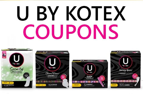 U by Kotex Product Coupons | NEW DreamWear Coupon