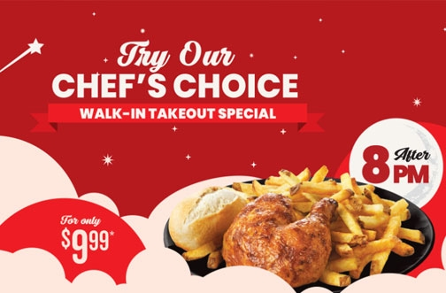 Swiss Chalet Coupons & Offers 2021 | NEW Crispy Chicken Sandwich + Chef's Choice Special