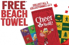 General Mills Canada Promotion | Free Beach Towel