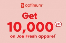 Joe Fresh Sales | 10,000 PC Optimum Points