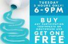 SDM – BOGO Toothpaste & Mouthwash Coupon