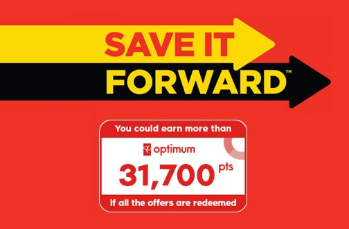 PC Optimum Save It Forward Portal | Get Over 31,700 Bonus Points