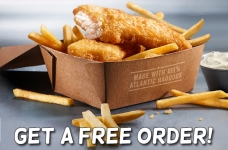 Free McDonald's Fish & Chips + Coffee