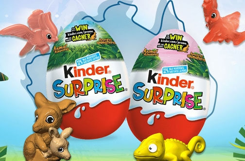 Kinder Surprise Contest | Animal Adventures Instant Win Contest