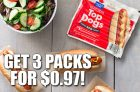 Get 3 Packs of Maple Leaf Top Dogs for $0.97!