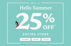 Roots Hello Summer Sale
