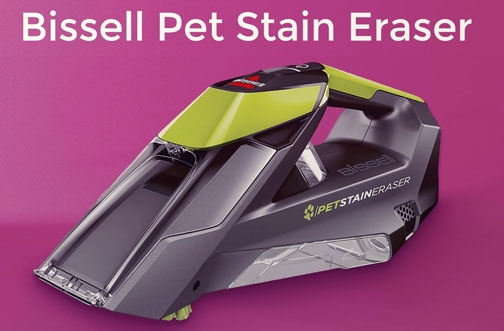Bissell Contest Canada | Little Green Pet Stain Eraser Giveaway